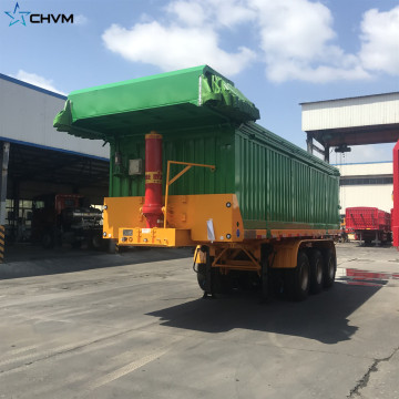 Semi Dump Trailer Capacity End Dump Truck Capacity