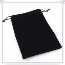 Saco da jóia da forma com cor preta (bg0001)