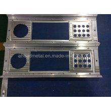 Высокоточные ЧПУ пользовательских 6061 7075 алюминиевых частей