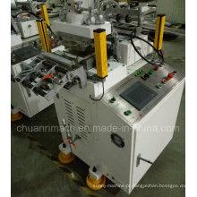 Sistema de controle de óleo digital e automático, segundo ou mais corte, tela sensível ao toque, alta velocidade, máquina de corte e vinco Trepanning