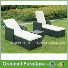 Mobília do Rattan / mobília do jardim / mobília de vime / mobília ao ar livre / espreguiçadeira