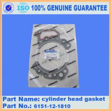 excavator parts PC650-8 gasket 6210-11-4811
