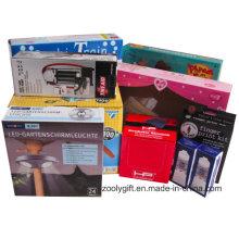 Personalización de impresión personalizada de papel corrugado cajas de embalaje