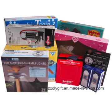 Professional Personalizar Impressão Caixas de embalagem de papel ondulado
