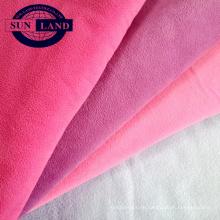 100% Polyester-Micro-Polar-Fleece mit zwei Seiten an einer Seite Anti-Pilling