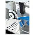Cabezal desmontable ajustable AG-BY104 Motor eléctrico de 3 funciones para el armazón de la cama con cuatro ruedas silenciosas