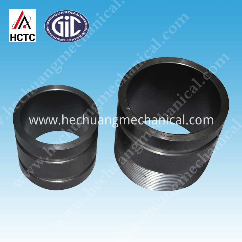 Sch 80 Threaded+grooved Steel Pipe Nipples