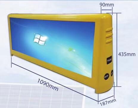 Taxi top led screen (2)