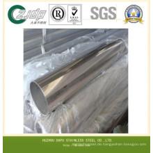 Hersteller ASTM 201 Edelstahlblech auf Rohr
