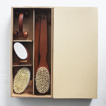 High-grade Wooden Bath Brush Set