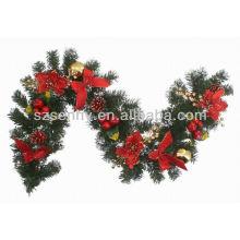 Faixa de Natal de fibra óptica quente