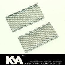 Clavos de acero galvanizado para la construcción y el embalaje