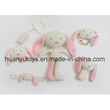 Factory Supply Baby Plush Rattle Set