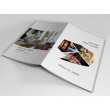 Full Colors Customized Company Brochure Booklet Printing