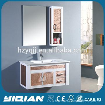 Cabinet en miroir en aluminium