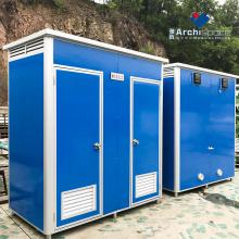 banheiro portátil pré-fabricado showroom banheiro móvel pré-fabricado