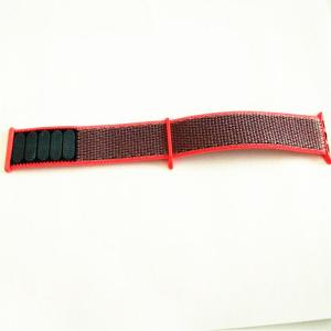 Pink Nylon Loops Watch Strap Band for Apple