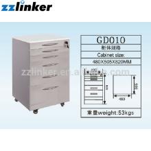 Цветастый Зубоврачебный шкаф с 6 ящиками GD010