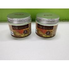 Frasco de creme cosmético plástico de 150ml com a etiqueta feita em Yuyao