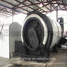 Large refinery rate medical waste pyrolysis reactor with high profit