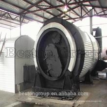 Reator de pirólise de resíduos médicos de grande taxa de refinaria com alto lucro