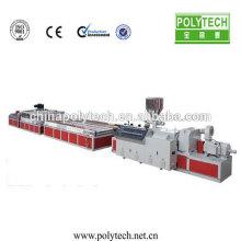 Máquina de extrusión y molde para hacer madera plástica perfil Extrusión máquina /Co-extrusion de personalización