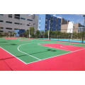 Silicon PU sports floor coating elastic material