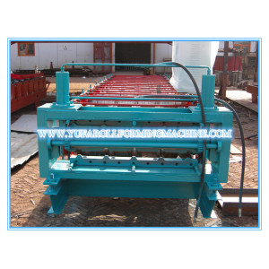 China for Double Layer Roll Forming Machine, Double Layer Forming Machine Supplier Fully Automatic Double Layer Roof Panel Roll Forming Machine export to Solomon Islands Manufacturer