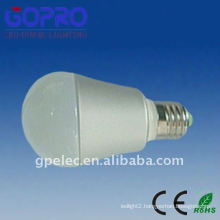 PVC & aluminium 5W LED bulbs