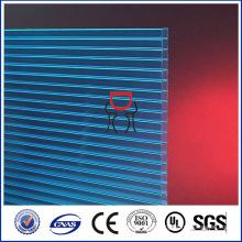 lexan 4mm Polycarbonat mattes hohles Blatt klares Plastikdach, preiswertestes Material