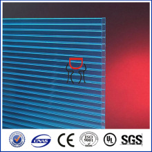lexan 4mm policarbonato fosco hoja hueca de plástico transparente techo, materiales más baratos buiding