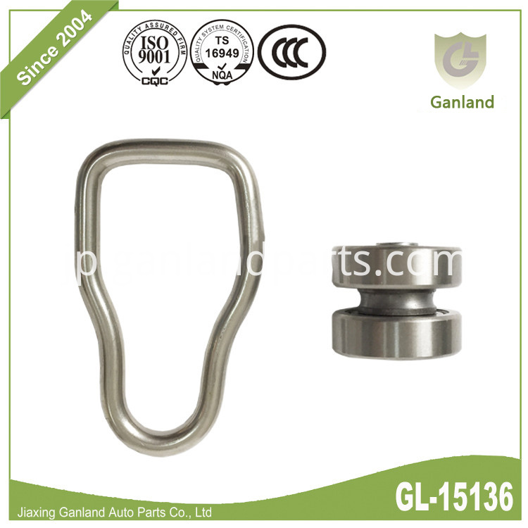 Waisted D-Ring And Bobbin GL-15136