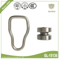 Stainless Steel Curtain Bobbin With Closed Waist Ring