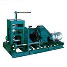 Máquina de construcción o máquina de plegado de tuberías