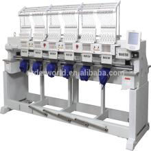 Компьютеризированная машина вышивки с 6 головок, 12 иглы высокой скорости