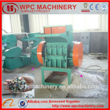 High output waste plastic rubber crushing machine