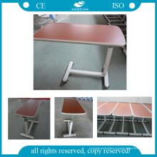 AG-Obt001 sobre la mesa de cama Mesa de hospital sobre la superficie de madera