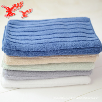 Китай Завод Прямые Продажи Хлопок Окрашенная Пряжа Дизайн Росток Фасоли Полотенце Для Лица