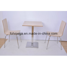 Food Court Restaurant Square Dining Table for Two People (FOH-NCP15-12)