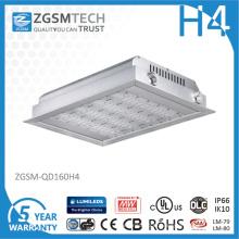 As luzes Recessed diodo emissor de luz do dossel do preço de grosso 40W 80W 120W 160W