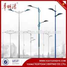 Poteaux de lampes coniques extérieurs