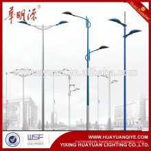 outdoor conical lamp poles