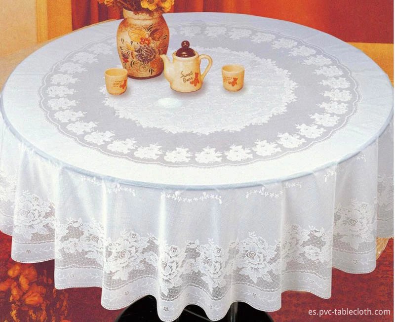 PVC LACE TABLECLOTH 2