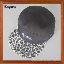 Custom Woven Label Leporad 5 Panels Hat