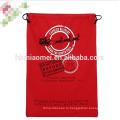 2017 новый дизайн Санта-Клаус мешок органических тяжелых холст Сумка шнурок дети Рождественский подарок сумки Санта Рождество мешок
