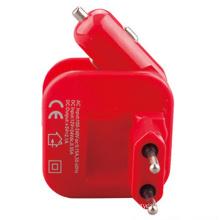 Universal 2.1A Dual EU Plug Wall Charger Car Charger