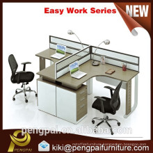 Two seater wood workstation avaliable cheap price