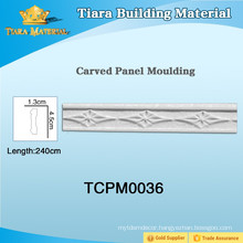 Fashion design pu ceiling mouldings with high quality