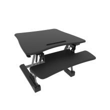 Riser debout réglable large de taille de plate-forme de plate-forme, plateau de clavier démontable, convertisseur de bureau d'ordinateur portable