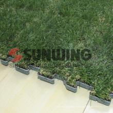 DIY split joint outdoor interlocking turf grass mat